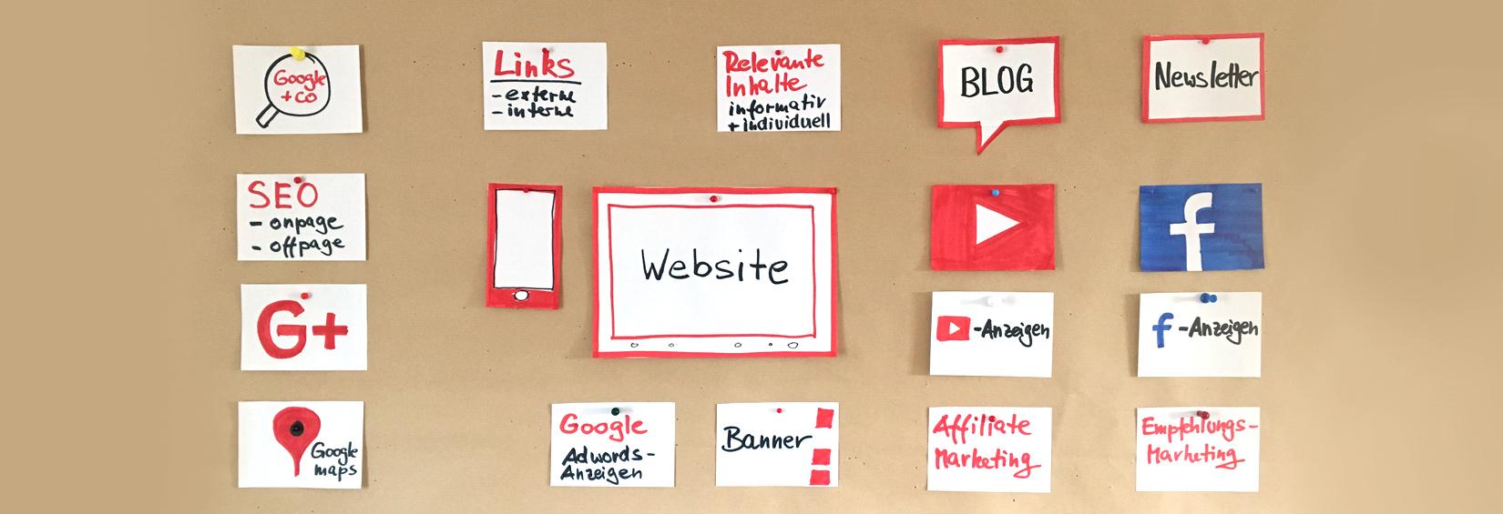 Website Online-Marketing und Social Media   Österreicher-Design